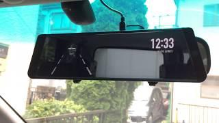 最新のドライブレコーダー auto-vox X2 全面液晶モデル