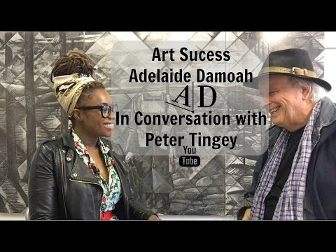 Art Success: Adelaide Damoah in Conversation with Peter Tingey
