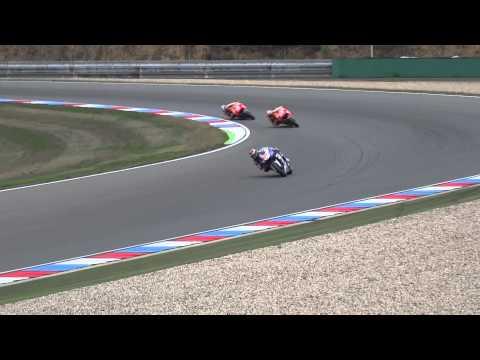 MotoGP RACE Lap1 Czech Republic Brno Circuit 2013 Tribune 6 View