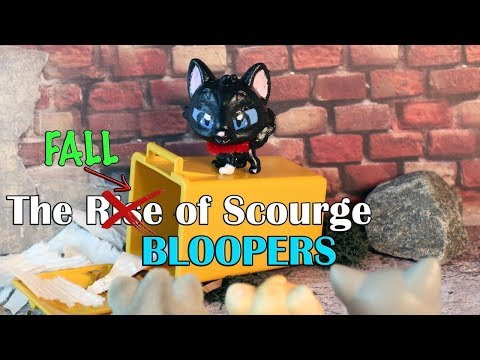 The Rise of Scourge  BLOOPERS!