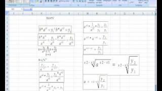 Eksponentielle funktioner - Beviset for a og b