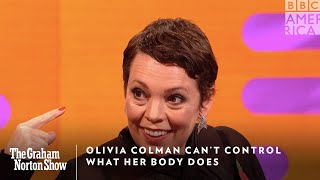 Olivia Colman Can't Change What Her Body Does | The Graham Norton Show | Friday @ 11pm | BBC America