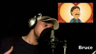 Family Guy Voice Impressions (Seth MacFarlane's best) HD