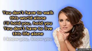 Britt Nicole - Straight for Your Heart (Lyric Video)