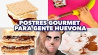 POSTRES GOURMET PARA GENTE HUEVONA. MAIRE VS EL INTERNET.