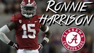 Ronnie Harrison  quotHUNCHOquot   Official Alabama Highlights