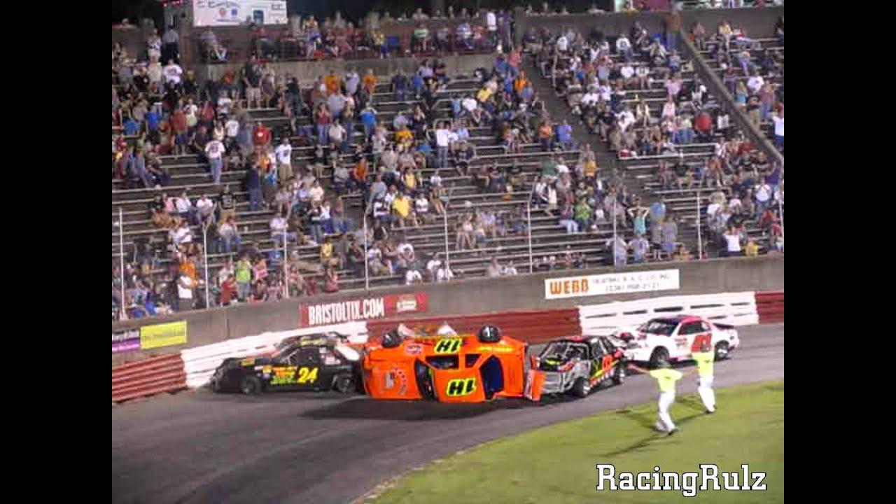 Multi Car Stadium Stock Accident Bowman Gray Stadium