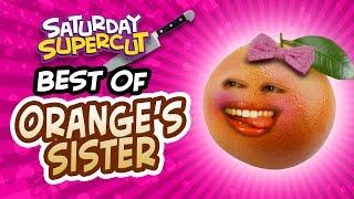 Annoying Orange's Sister Supercut!