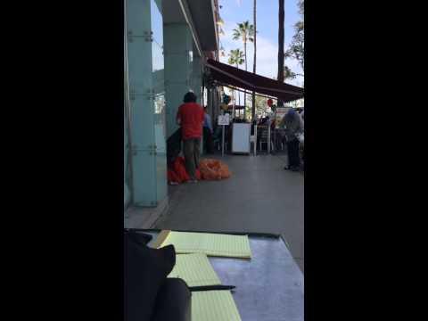 Evil Elmo's real appearance in Santa Monica