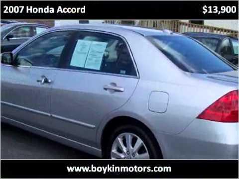 2007 Honda Accord Used Cars Smithfield Nc Youtube