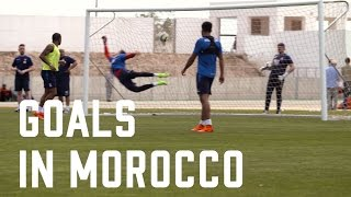 Goals in Morocco