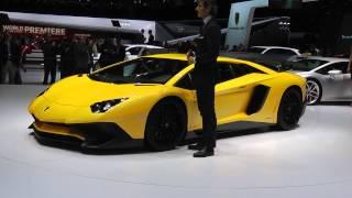 Salone di Ginevra 2015: Lamborghini Aventador SV