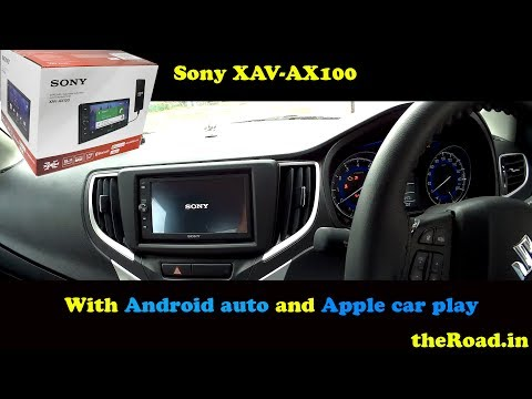 Sony XAV-AX100 Quick Look | Android Auto | Steering Controls