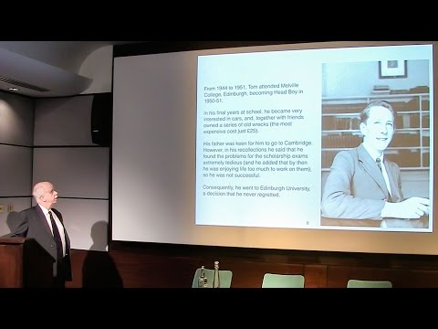 Newton Lecture 2016: Professor Kellogg Stelle