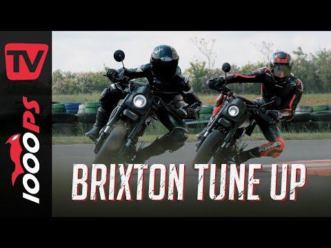 Kleines Bike, kleines Geld, riesen Fahrspaß | Brixton Crossfire 125 XS TuneUp | Werkstatt & Track