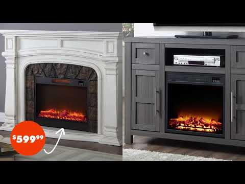 Electric Fireplaces At Big Lots Youtube