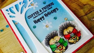 WINTER/HOLIDAY CARD FOR COFFEE LOVERS BLOG HOP