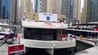 Beiersdorf Nivea Xclusive Yacht Charter at Dubai Marina 09.02.2017