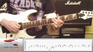 How To Play Purple Haze by Jimi Hendrix (intro + TAB)