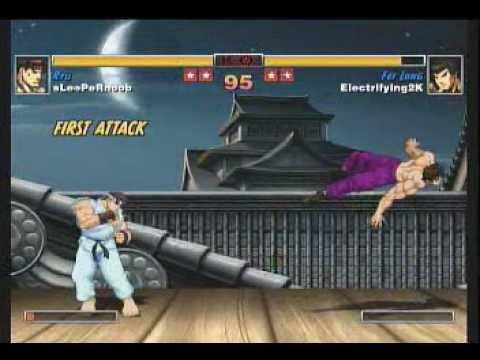 Street Fighter 2 Hd Remix Ryu Fireball Zoning Tutorial Youtube