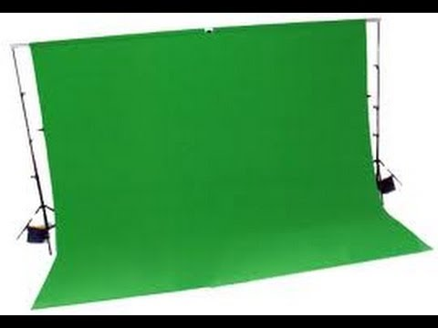 how to work a green screen