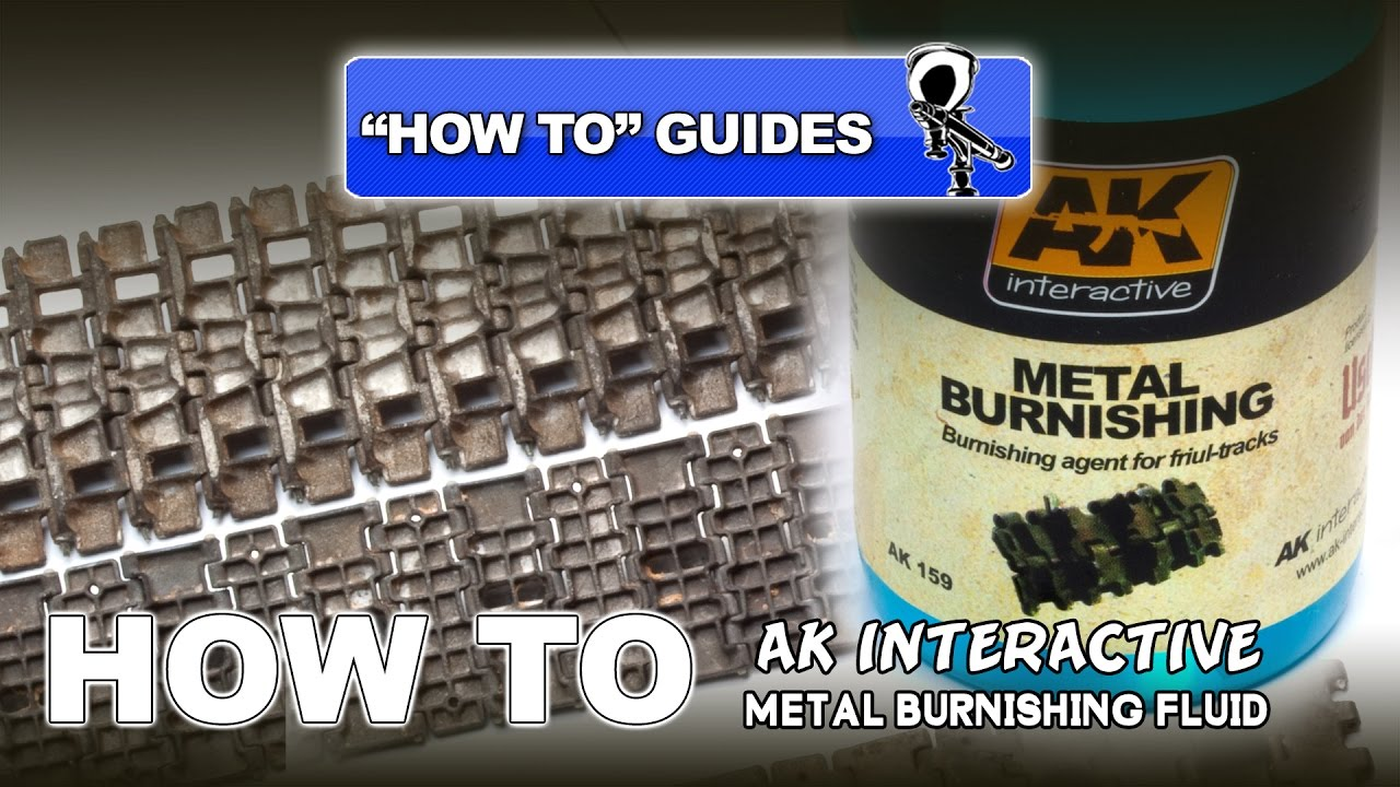 AK INTERACTIVE METAL BURNISHING FLUID