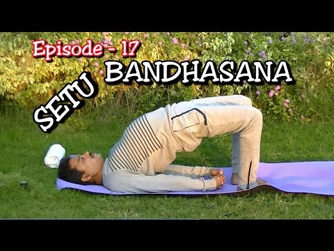 How to do Yoga Bridge Pose | Setu Bandhasana | EPS -17 | Dr.Amar