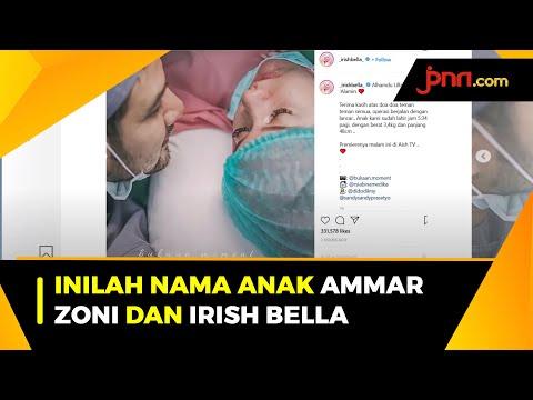 Selamat, Anak Pertama Ammar Zoni dan Irish Bella Sudah Lahir