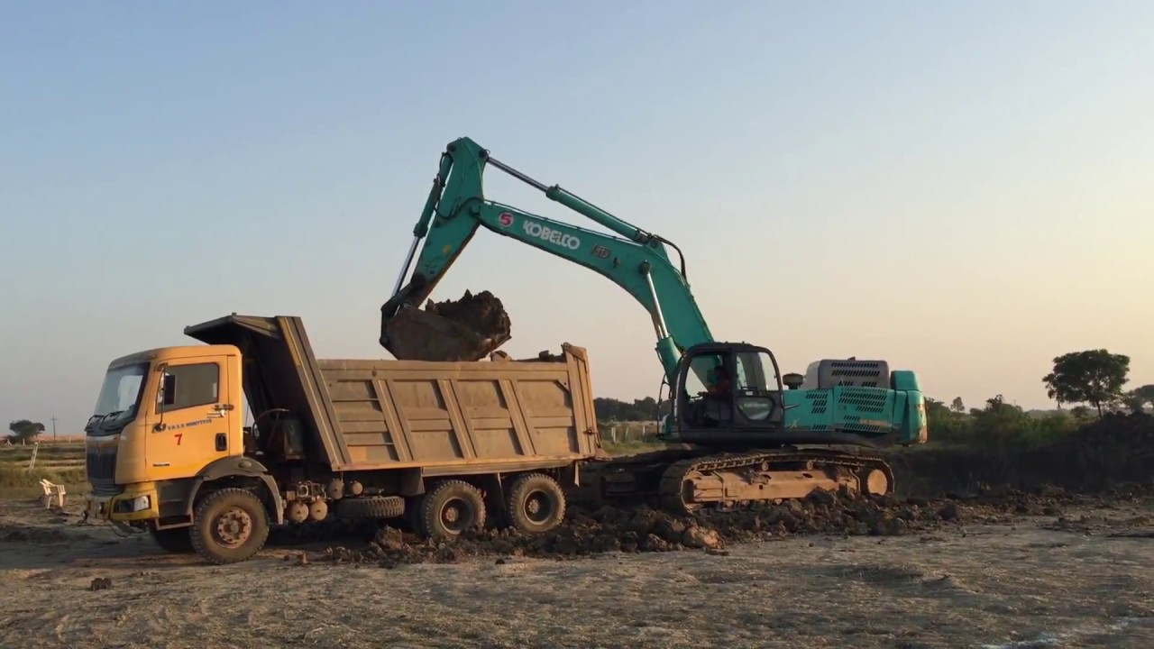Incredible Kobelco 500 HD Excavator HD | India
