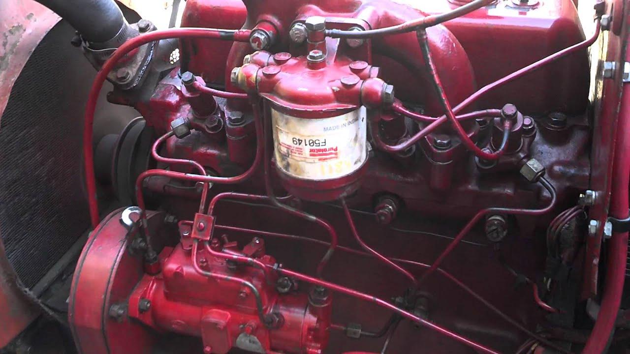 International 364 BD154 diesel, pleted repair  YouTube