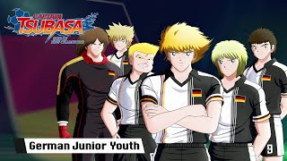 Captain Tsubasa Rise of New Champions - German Junior Youth  - PS4/PC/SWITCH