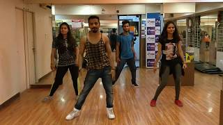 MANKIRT AULAKH DARU BAND | Zumba fitness & Bhangra | S cube dance Acdemy