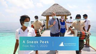 Vilamendhoo Island Resort & Spa Reopening