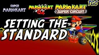 MARIO KART RETROSPECTIVE #1: Setting the Standard (Super, 64, GBA) | GEEK CRITIQUE