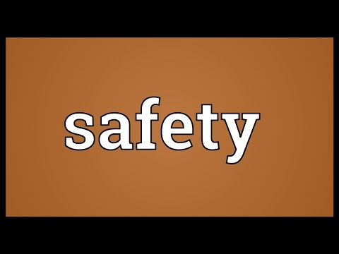Safety Meaning
