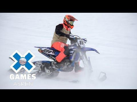 Men's Snow BikeCross: FULL BROADCAST | X Games Aspen 2018