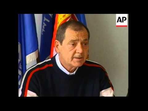 Karadzic lawyer; AP intv with Karadzic's friend, brother