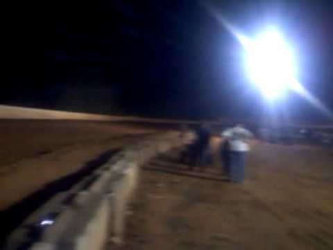 Scary moment for me at lake Cumberland speedway