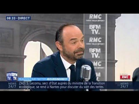 """Édouard Philippe: """"J'ai parfois eu avec Nicolas Sarkozy des relations difficiles"""""""