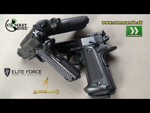 Umarex Airsoft Pistol Type 1911 -  Elite Force, Browning, Combat Zone