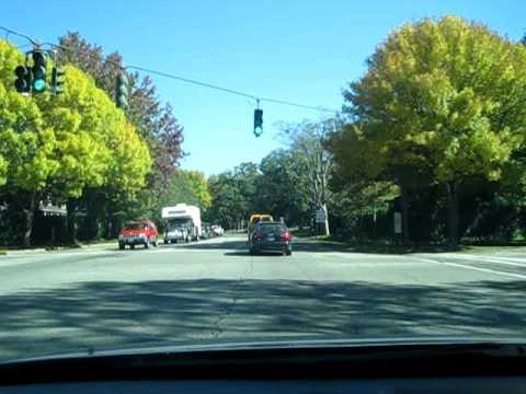 Driving around East Hampton, NY