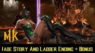 Mortal Kombat 11 - Jade - Character MK9 Story & Ladder Ending + Bonus - Catch Up With The Roster
