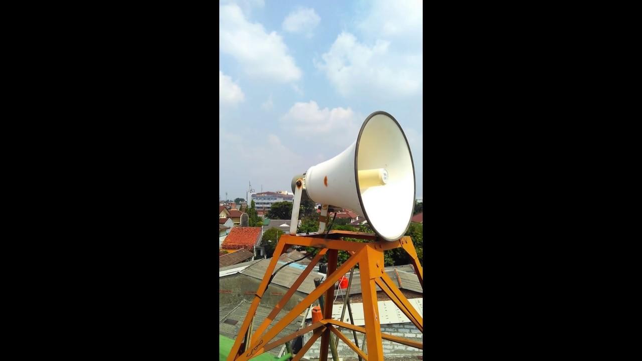 Aplikasi Toa Public Address Untuk Masjid Dgn Corong Zh 5025bm Zs 1030w Megaphone Pengeras Suara Speaker Demo