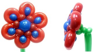 Милый цветок из воздушных шаров(Диаметр цветка 30 см. Видео с сайта компании Волшебник (http://sharlar.ru/). Компания Волшебник поставляет воздушные..., 2015-11-11T16:30:22.000Z)