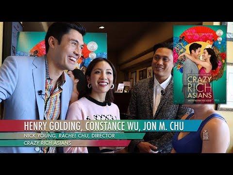 'Crazy Rich Asians'   Constance Wu, Henry Golding, Jon M. Chu