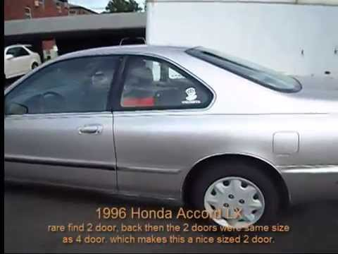 1996 Honda Accord LX Coupe Review   YouTube