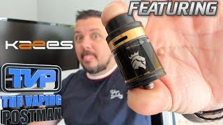 Kaees solomon V2 RTA, build, wick and review!