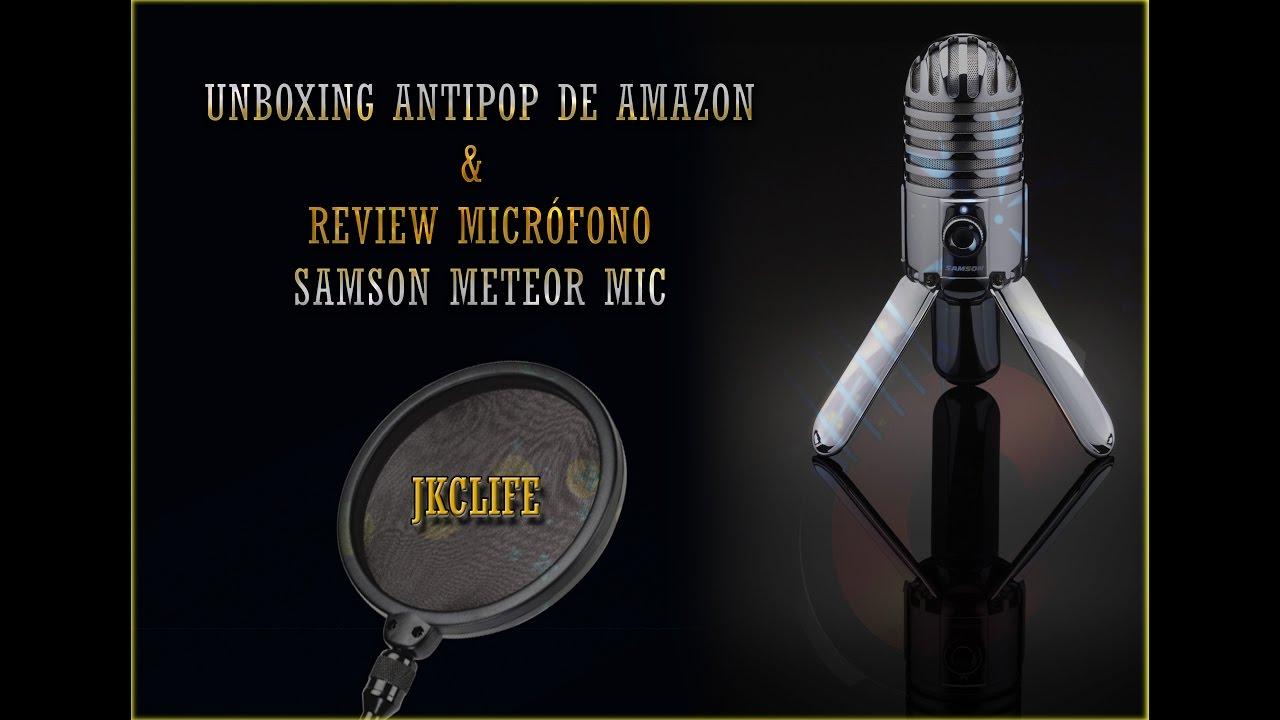 unboxing antipop review samson meteor mic en espa ol youtube. Black Bedroom Furniture Sets. Home Design Ideas