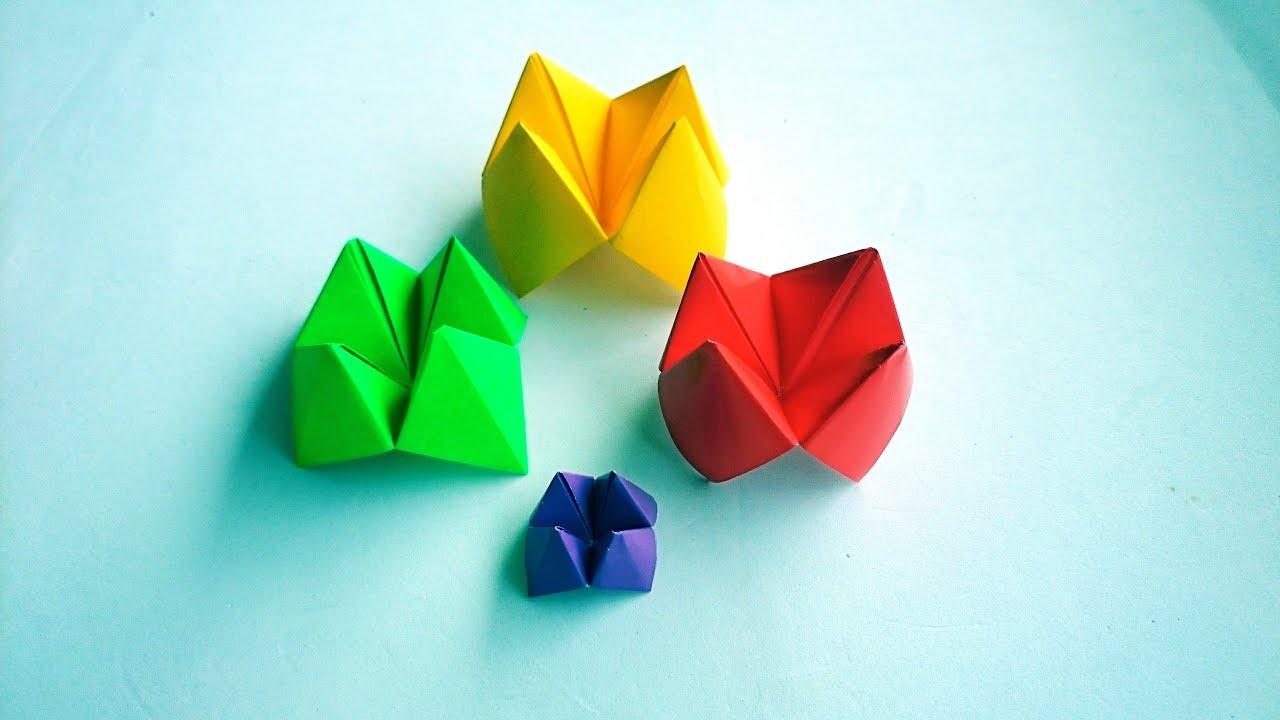 折纸東南西北 Origami Fortune Teller - YouTube - photo#2