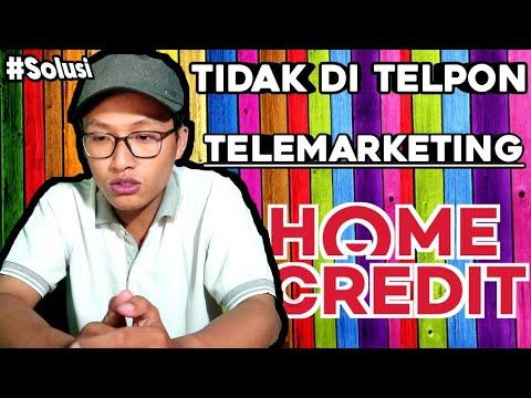 Cara Agar Tidak Ditelpon Telemarketing Home Credit